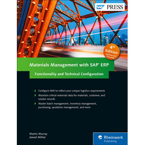 Libro Materials Management With Sap Erp: Functionality