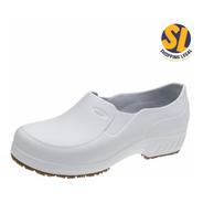 Sapato Eva Limpeza Cozinha Branco Flex Clean Marluvas