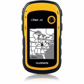 Gps Garmin Etrex 10 Portátil Navegador Glonass Trilha Barco