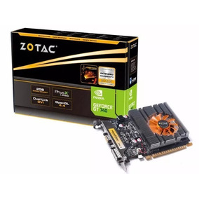 Placa De Video Zotac Geforce 740 2gb Ddr3 128b