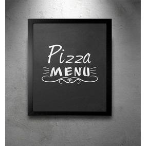 Quadro Negro Preto Lousa Menu Cozinha Restaurante Bar 48x35