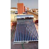 Calentador Solar Masterflows 10 Tubos, 120 Litros