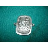 Antigua Medalla San Cristobal De Plata