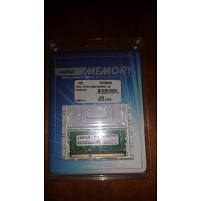 Memoria 2gb Crucial Ddr3 1066 Pc3-8500 Ct25664bc1067 Laptop