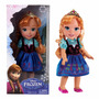 Muñeca Disney Princesas Frozen Anna Original Mundo Manias