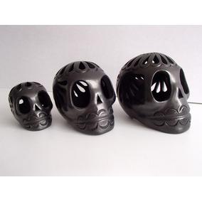 Calaveras Para Día De Muertos. Barro Negro Oaxaqueño !!