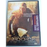 Riddick - El Amo De La Oscuridad - Dvd Original Seminuevo