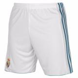 Calção Do Real Madrid Jogador Shorts adidas Branco Rosa ad9fc82cbe3dc