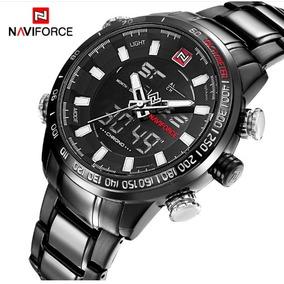 Relógio Masculino Militar/esportivo Luxo Naviforce