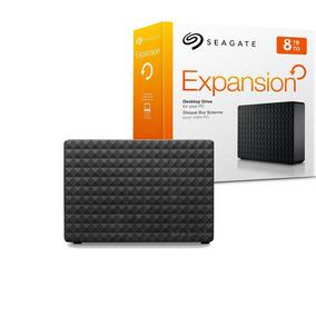 Disco Duro Externo 8tb Seagate Usb 3.0 Pc Mac Externo Negro
