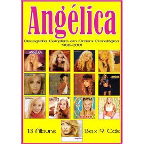 Cd Angélica - 1988 - 2001 (+bônus)