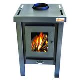 Qutral Estufa Calefactor A Leña 9000 Kcal - Bajo Consumo