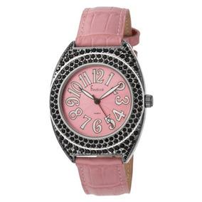 Freelook Mujer Ha1070b-5 Reloj De Cuero De La Banda