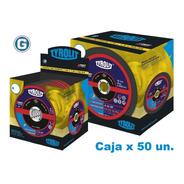 Disco Corte Tyrolit  Xpert 114 X 1,0 Mm Caja X 50 Un Gramabi Amoladora 4 1/2 Fino 115x1 Hierro 114x1 Metal Inoxidable