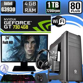 Pc Gamer G3930 Geforce Gt 730 4gb 1tb Hd 4gb Ram Acer 24 C21