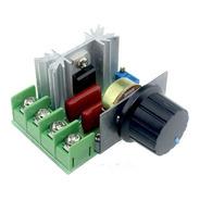 Controlador Velocidade Motor Voltagem Temp. 2000w Dimmer