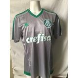 Camisa Original Palmeiras adidas 3 Prata, Cinza 2015 2016