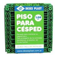 Piso Para Cesped 1,08 Mts2