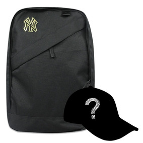 Mochila New Era Mlb Yankees Black Out Split Pack 108a8838420