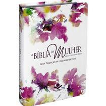 Bíblia Da Mulher - De Estudo - Aquarela - Ntlh - Arc Sbb