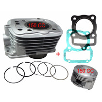 Kit Aumento Cilindrada 150cc P/ Cg/ Today Titan 125 +juntas