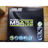 Kit Placa Mae Asus M5a78l-m Lx/br + Athlon X2 + 4gb Ram