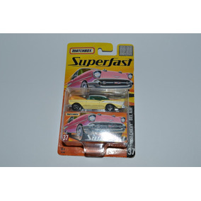 Miniatura 1957 Chevy Bel Air 1:64 Matchbox Superfast 37