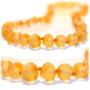 El Arte De Cure Collar Ámbar Báltico Dentición Del Bebé - B