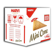 Casquinha Mini Cone Trufa 300 Un - Marvi