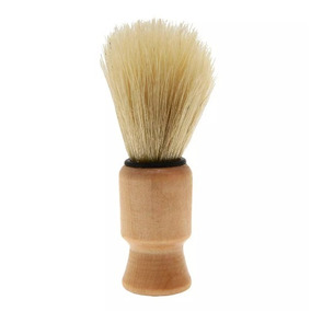 Pincel Para Barbear Cabo De Madeira