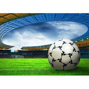5a25f624bb Adesivo Parede Futebol Esporte Jogo Estádio Bola Gg134 por Olist