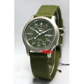 Seiko Militar Automático Verde Snk805 Snk805k2 Menor Preço