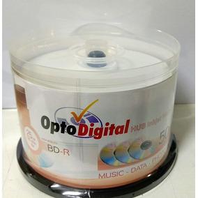 50 Bluray Optodigital 6x Printable 25gb