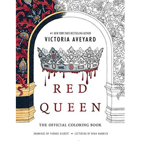 Libro Red Queen: The Official Coloring Book - Nuevo