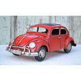 Nuevo Auto Escarabajo Vw Réplica De Chapa Estilo Antiguo