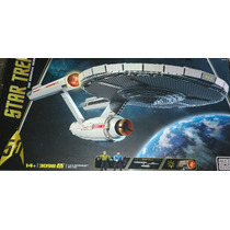 Star Trek U.s.s. Enterprise Ncc-1701 Mega Bloks 3098 Pz Uss