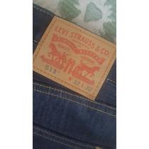 Pantalon Levis 513 Jeans 32x32 Corte Recto Tela Padrisima