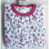 Pijama Flanelado Infantil Moletom Loja Fisica 4/8