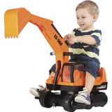 Mini Veiculo Giant Escavator Trator Infantil Meninos Roma