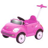 Beetle Push Car Rosa Bebesit