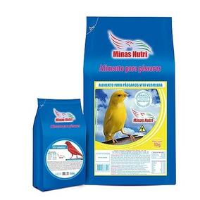 Mistura De Sementes Vita Vermelha Para Canário Belga 10kg
