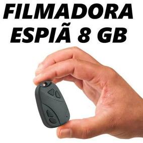 Mini Camera Filmadora Para Veiculos Seguranca Oculta 8gb