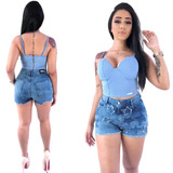Shorts Jeans Premium Estrela Cintura Alta Planet Girls