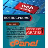 Hosting + Dominio .com Internacional