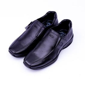 Sapato Masculino Couro Jota Pe 3d Air Calçar Amarrar Vários