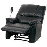 Poltrona Do Papai Massageadora Relaxmedic Preta Bivolt E8145