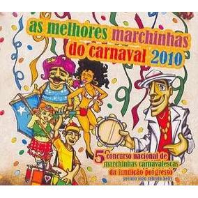 Cd Melhores Marchinhas Carnaval 2010 Novo E Lacrado