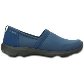 Zapato Crocs Dama Duet Busy Day 2.0 Heather Azul
