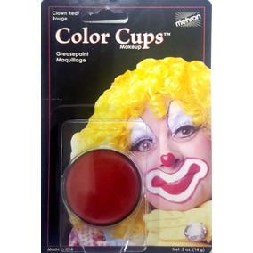 Maquillaje Profesional Mehron Rojo Para Payasos