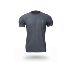Camiseta Masculina Manga Curta Com Proteção Solar Uv 50+
